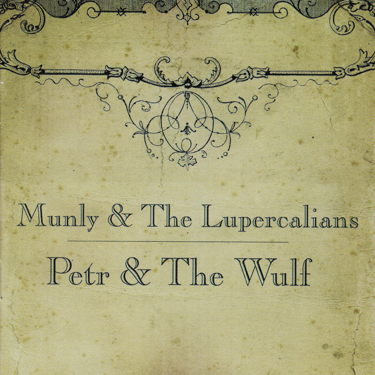 munly lupercalians petr and the wolf album cover lp cd